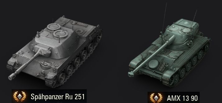 RU 251 или AMX 13 90