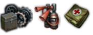 Оборудование и снаряжение на КВ-122
