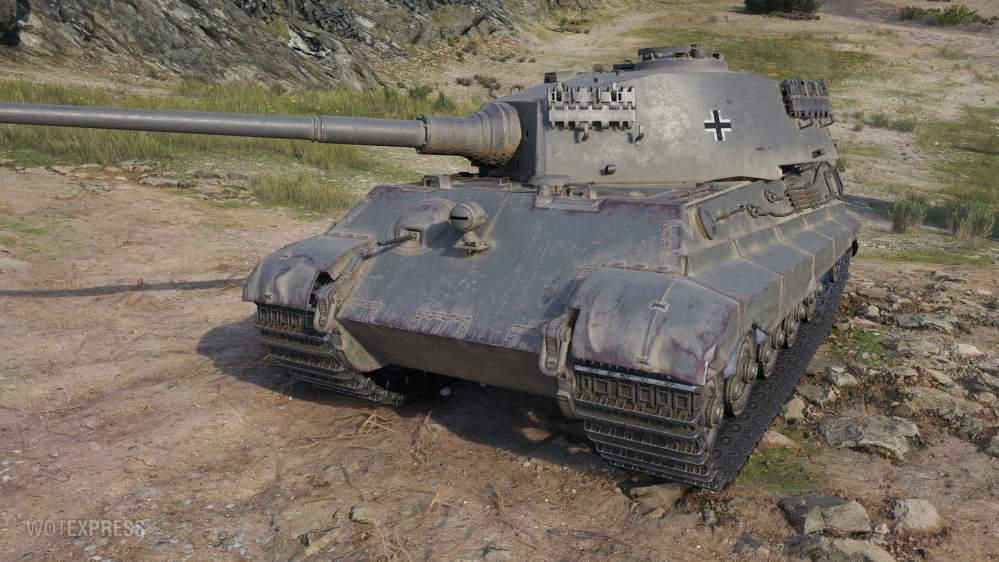Tiger II P - немецкий тяжёлый танк