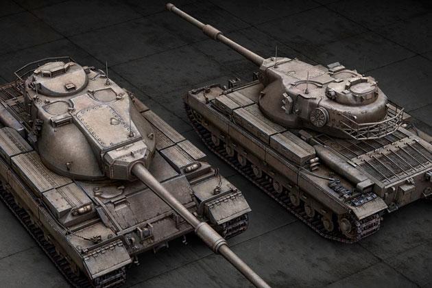 Характеристики танков в World of Tanks