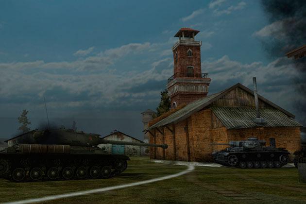 Карта Энск World of Tanks