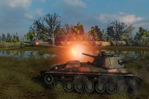 Выкидывает из игры World of Tanks
