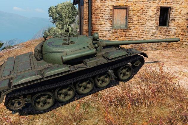 Т 55А World of Tanks