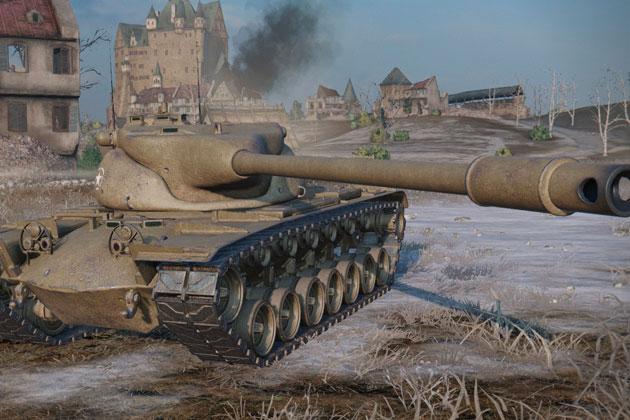 Официальный сайт игры World of Tanks