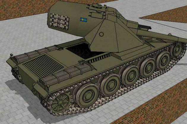 Kranvagn шведский танк