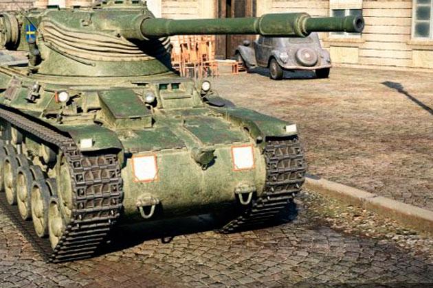 Новая ветка шведских танков