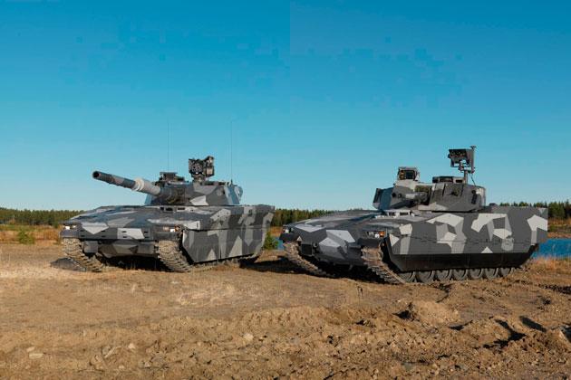 Новые шведские танки