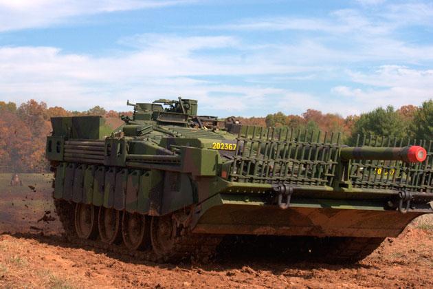 Шведский танк STRV 103