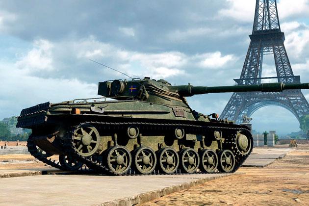 Шведский премиум танк