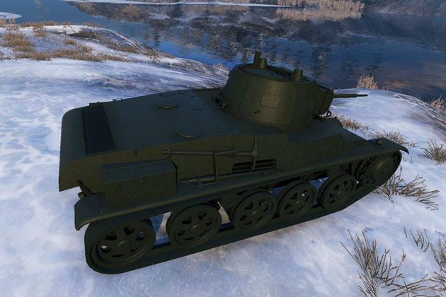 Шведский танк 6 уровня