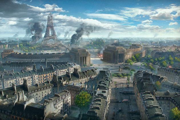 Карта Париж в World of Tanks