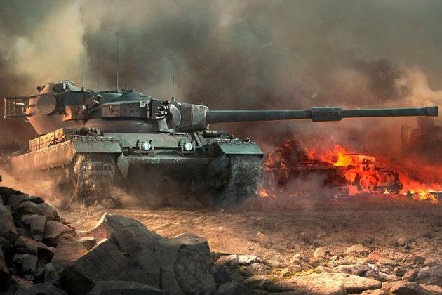 Статистика танков World of Tanks по серверу