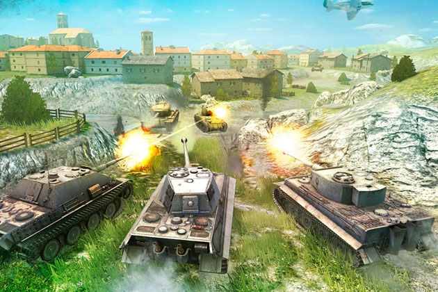 World of tanks blitz steam как скачать