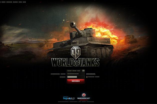 Как войти в игру World of Tanks