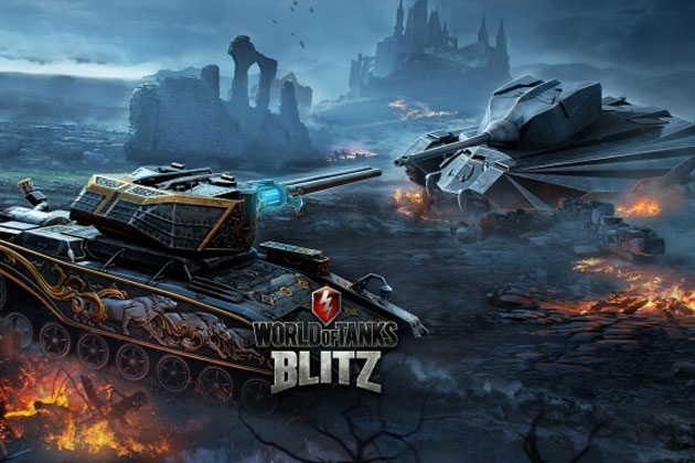 World of Tanks blitz ночная охота