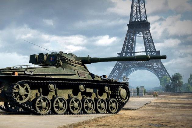 Первый шведский танк в World of Tanks