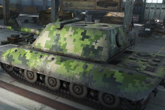 Камуфляж для танков в World of Tanks