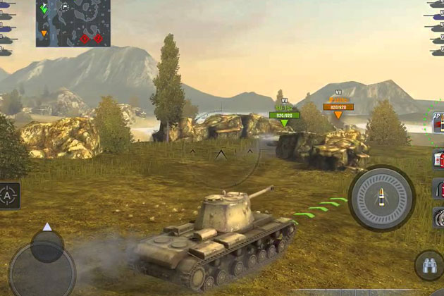 World of Tanks Blitz играть на компьютере