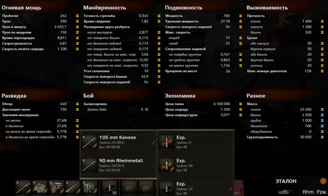Обзор Rheinmetall Panzerwagen - немецкий лёгкий танк 10