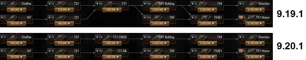 Замена T71 в 9.20.1