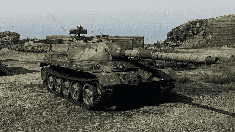 В бой на танке WZ-132-1