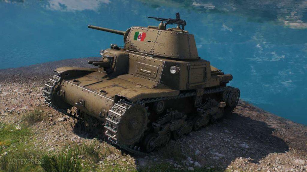 M14/41 танк Италии