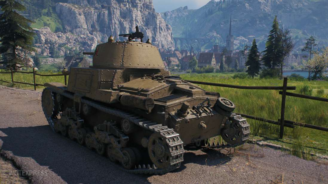 M14/41 танк 2 уровня ИТАЛИЯ