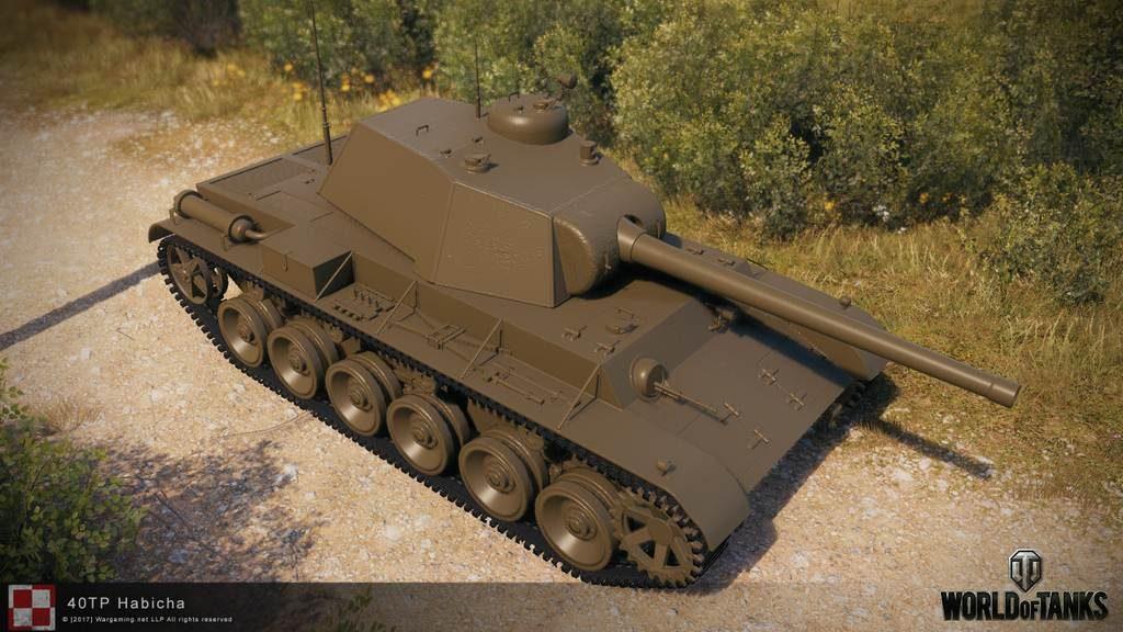 40TP Habicha танк Польши 6 уровень