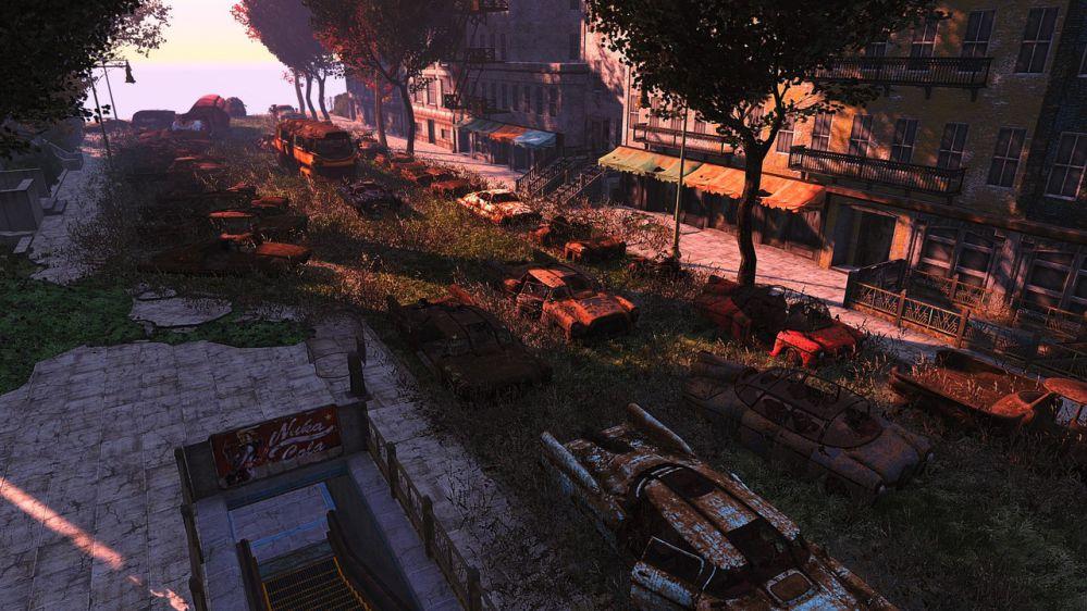 Fallout: разработчики стёрли с лица земли несколько городов