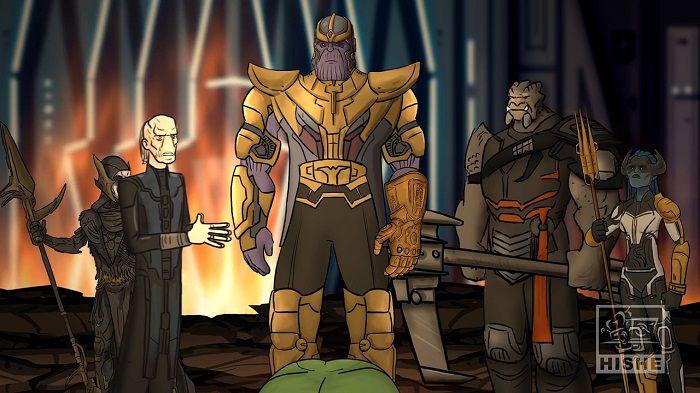 «Мстители: Война бесконечности» альтернативная концовка