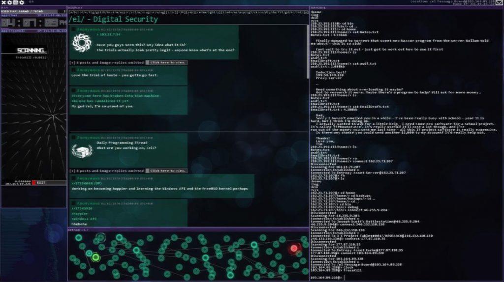 Hacknet будет доступна бесплатно для всех желающих