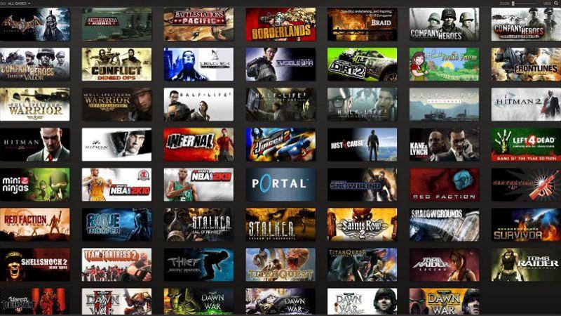 Известно точное количество игроков 13 тысячи игр Steam