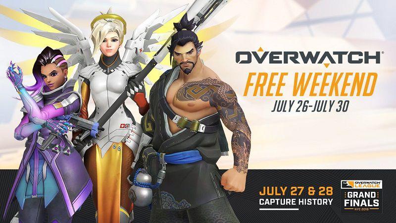 Overwatch бесплатно