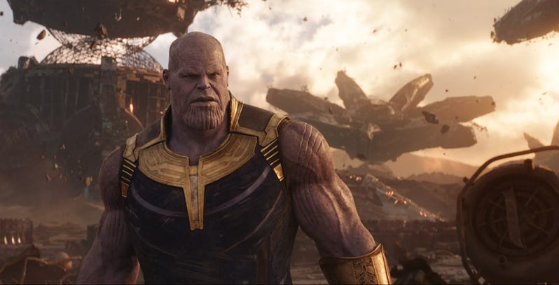 Таноса «Мстителей: Война бесконечности»