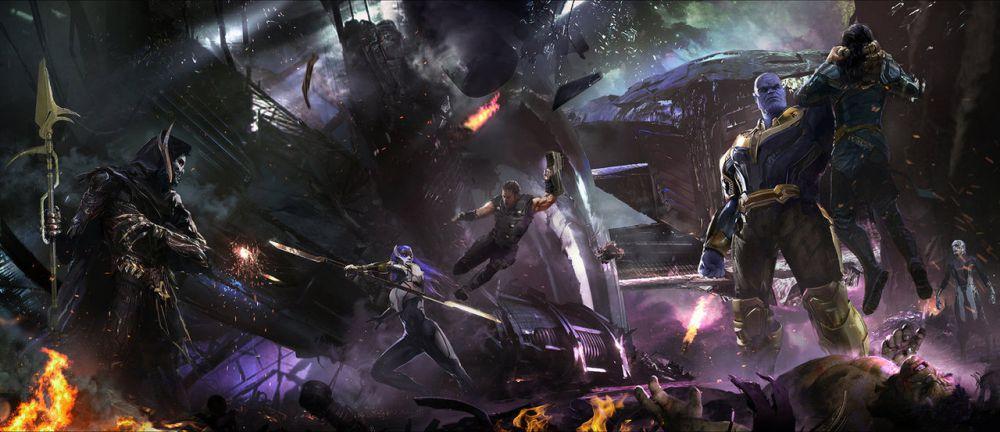 Мстители 4 - Танос прибывает из будущего