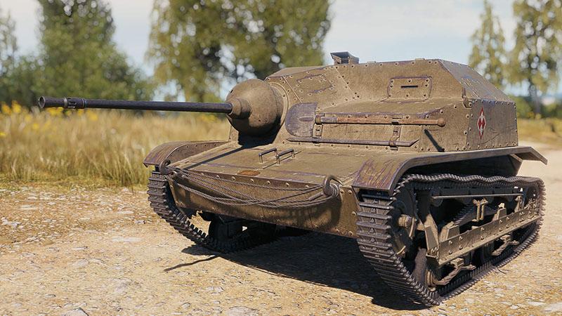 премиум танк 2 уровня TKS 20