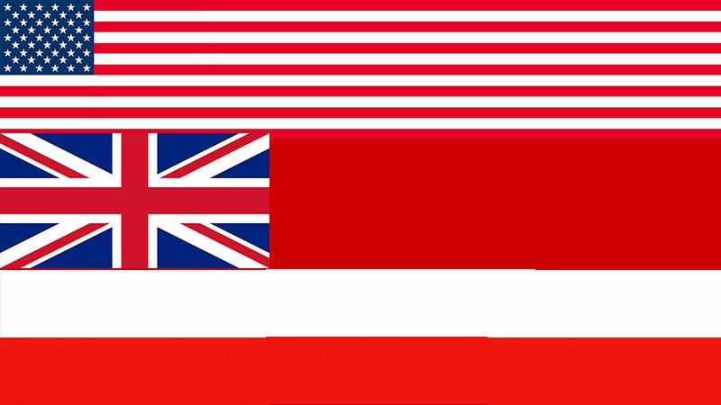 США, Великобритании и Польши