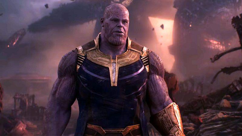 Безумный титан Танос