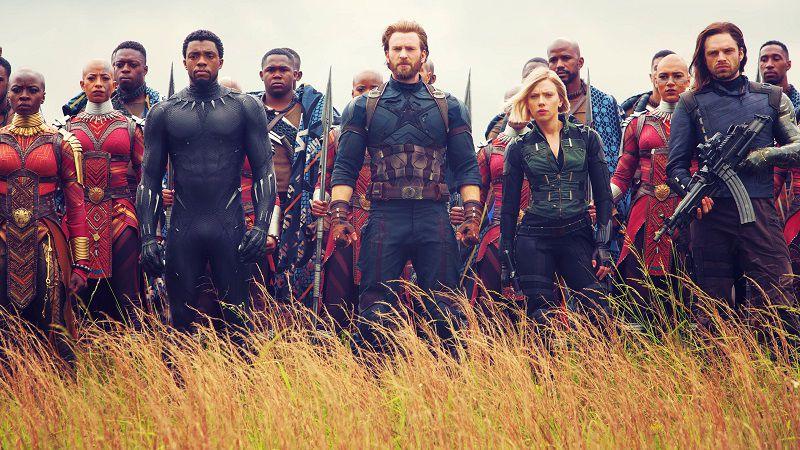 """""""Мстители: Война бесконечности"""" битва в Ваканде"""