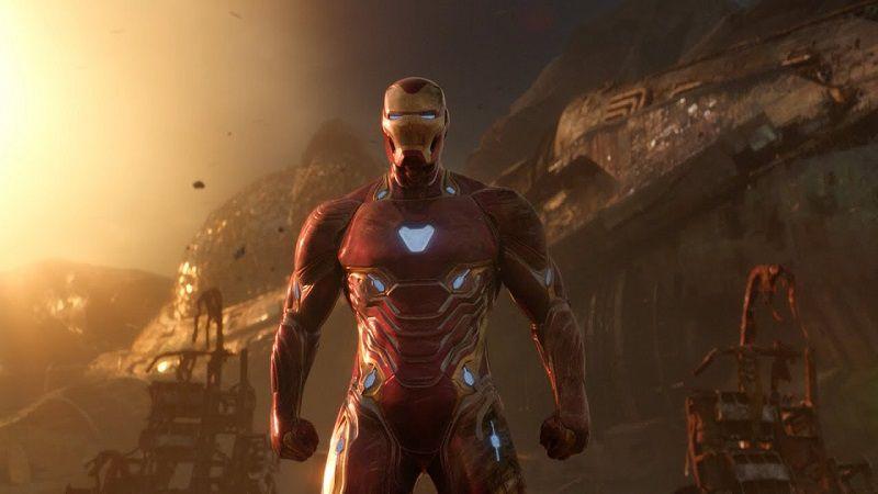 Железный человек, он еже Тони Старк