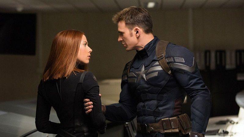 «Мстители 4» Капитан Америка и Черная Вдова