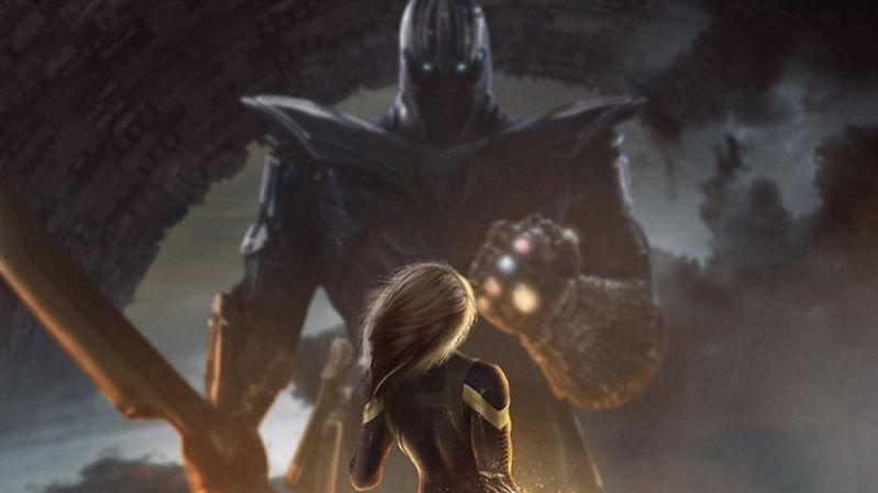 «Мстители 4» фан-постер
