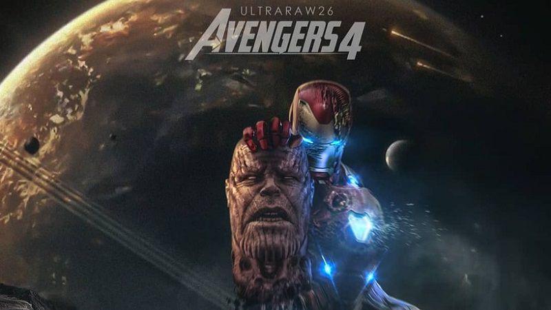"""Фан-постер фильма """"Мстители 4"""" от ultraraw26"""