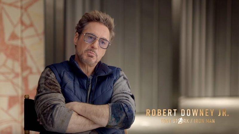 Роберт Дауни-младший, он же Тони Старк, он же Железный человек