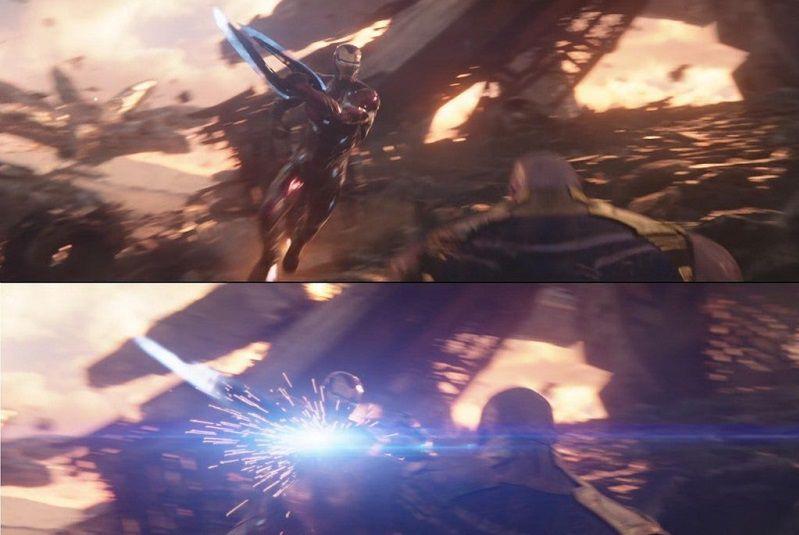 Железный человек мог отрезать Таносу руку