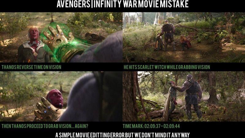 Ошибка в действиях Таноса