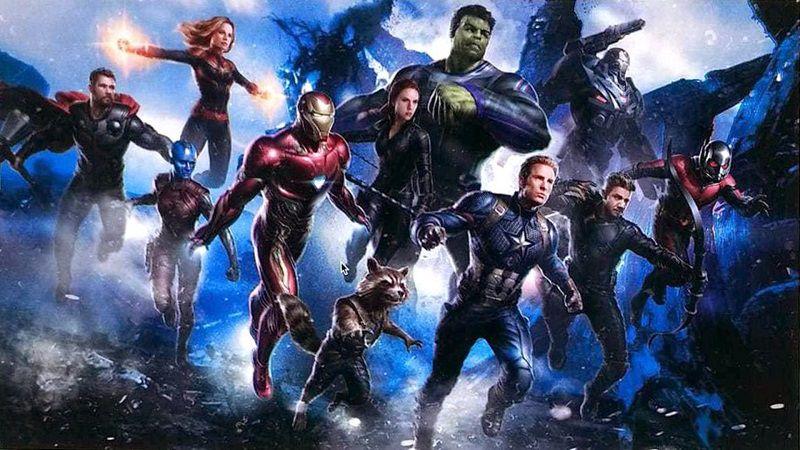 "Фан-постер фильма ""Мстители 4"""