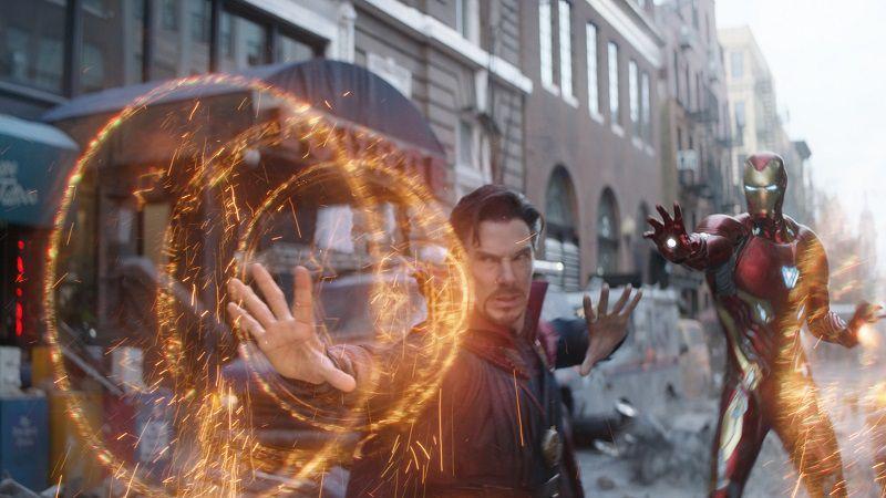Доктор Стрэндж и Железный человек