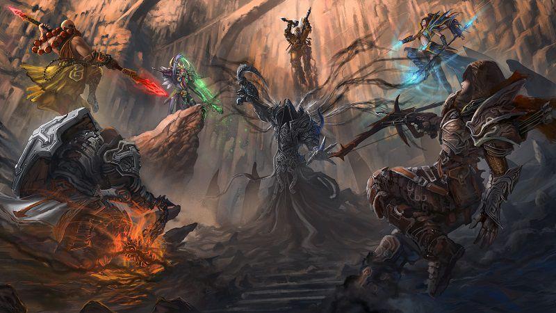 Постер видеоигры Diablo 3