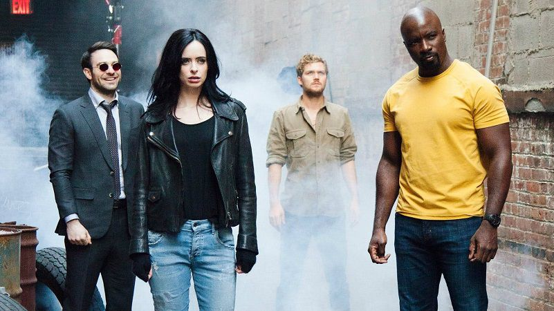 Проекты Marvel на Netflix